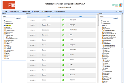 Metadata Conversion Configuration Tool